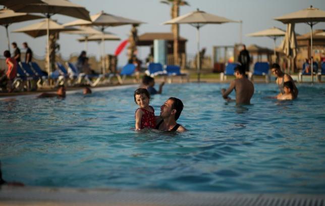 Blue Beach resort Gaza (Photo: Reuters)