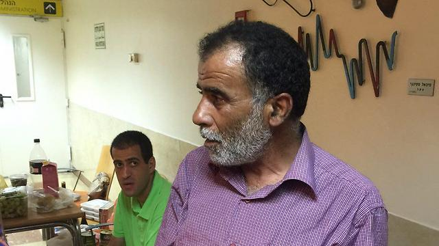 Hussein Dawabsheh, Saed's father (Photo: Rotem Elizera)