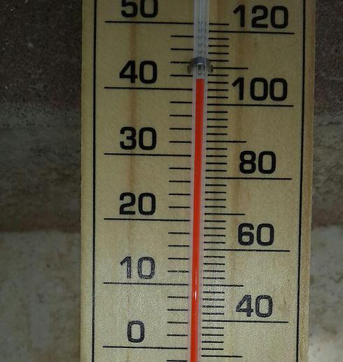 בבית שאן הטמפרטורות עשויות להגיע לכמעט 50 מעלות