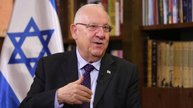 President Rivlin (Photo: Gil Yochanan)