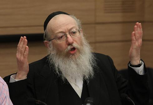 Yaakov Litzman (Photo: Gil Yohanan)