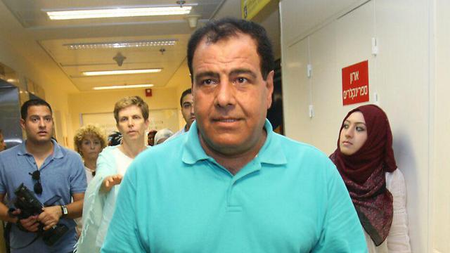 Dr. Izzeldin Abuelaish at Shiba Medical Center (Photo: Ido Erez)