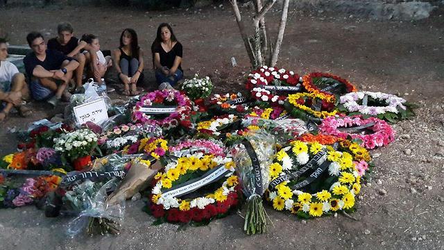 Strangers attended Shira's funeral (Photo: Roi Yanovsky)