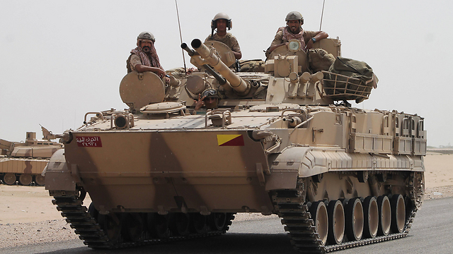 Saudi forces in Yemen (Photo: AFP)