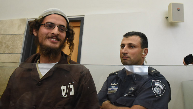 Meir Ettinger. Administratively detained (Photo: Avihu Shapira) (Photo: Avihu Shapira)