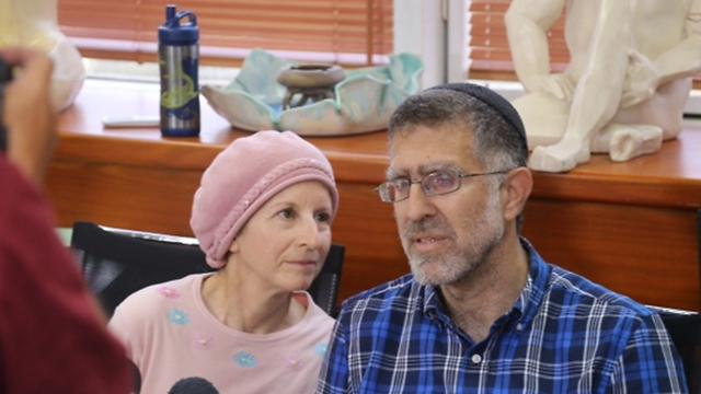 Gedalya and Sarah Mayer, Mordechai's parents (Photo: Moti Kimhi)