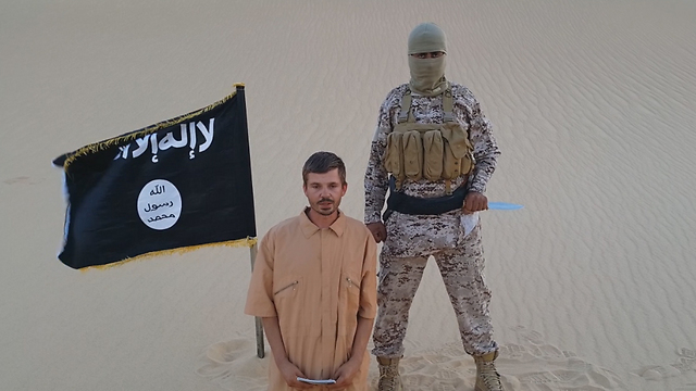 ISIS in the Sinai before allegedly executing a prisoner