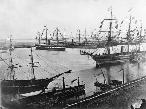 חניכת תעלת סואץ, נובמבר 1869 (צילום: AP) (צילום: AP)