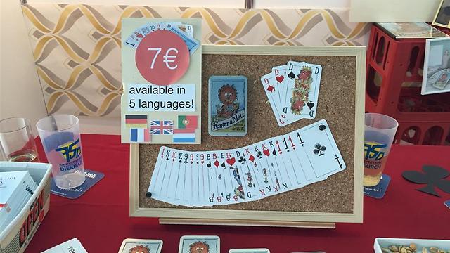 לוקסמבורג: משחק קלפים מאחד - משחק שנועד לחבר בין אזרחים זרים במדינה למקומיים ()