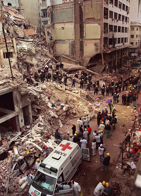 The 1994 AMIA bombing in Buenos Aires (Photo: AP)