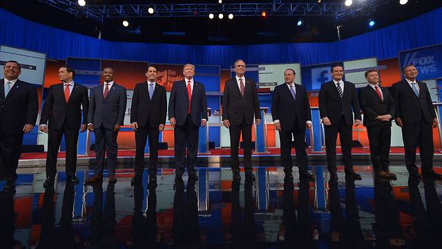 It's a full race on the Republican side. (Photo: AFP) (Photo: AFP)