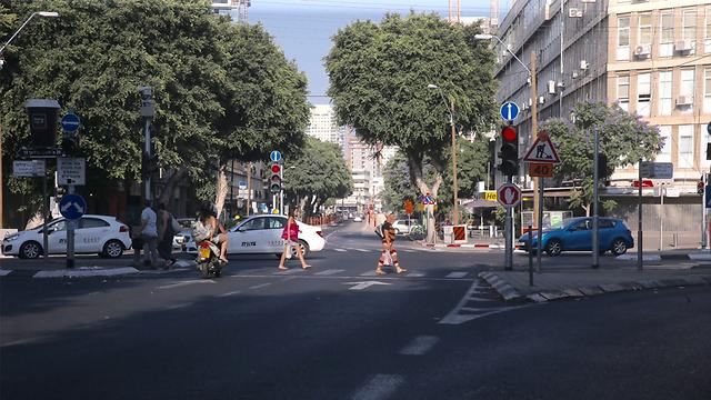 רחוב החשמונאים - ישנה פניו (צילום: מוטי קמחי ) (צילום: מוטי קמחי )