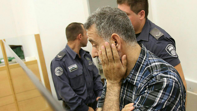 Hizran at court (Photo: Avi Mualem)