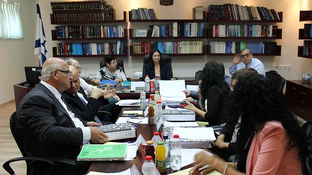 ועדה למינוי שופטים. לא ניתן לכנס ולמנות שופטים חדשים (צילום: דוברות השרה) (צילום: דוברות השרה)
