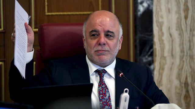 הבטיח לבצע שינויים מרחיקי לכת במבנה המנהל הציבורי המושחתת. ראש ממשלת עיראק חיידר אל-עבאדי (צילום: רויטרס) (צילום: רויטרס)
