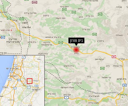 מקום הפיגוע (צילום: google maps) (צילום: google maps)