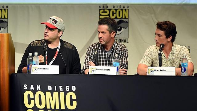 טראנק (משמאל) עם קינברג וטלר בקומיק-קון. זה ייגמר כאן (צילום: GettyImages) (צילום: GettyImages)