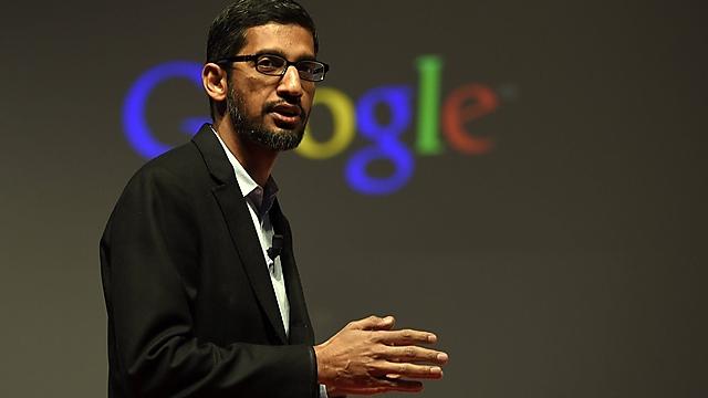 """סונדאר פיצ'אי, מנכ""""ל גוגל (צילום: AFP)"""