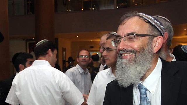 Rabbi David Stav (Photo: Gil Yohanan)