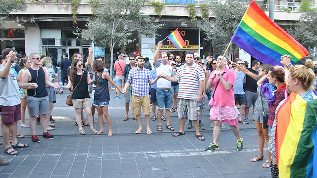 The Gay Pride parade in Jerusalem. Not something that would happen in one of Israel's neighboring countries. (Photo: Ofer Meir)