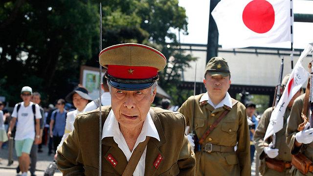 מציינים 70 שנים גם בטוקיו (צילום: AP) (צילום: AP)