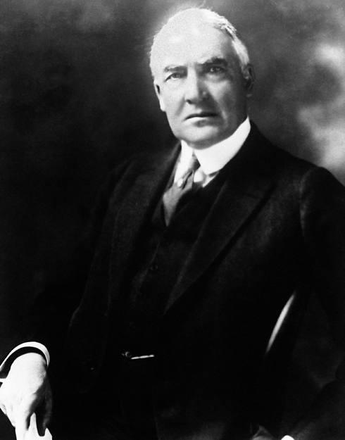 """וורן הרדינג, נשיא ארה""""ב 1923-1921 (צילום: AP) (צילום: AP)"""