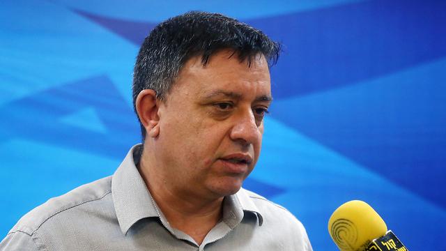 הצביע נגד. השר אבי גבאי  (צילום: מרק ישראל סלם) (צילום: מרק ישראל סלם)