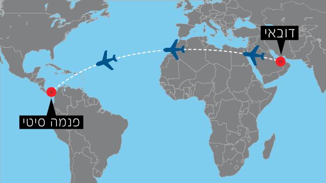 הקו החדש - והארוך במיוחד - של הטיסה של Emirates ()