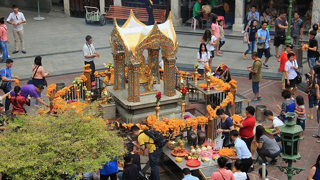 המקדש שלידו אירע הפיצוץ (צילום: shutterstock) (צילום: shutterstock)