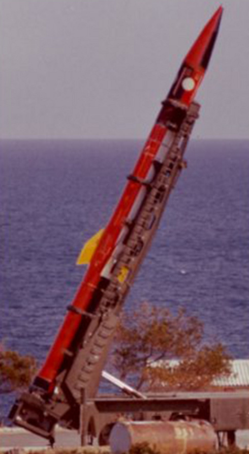 Jericho surface-to-surface missile (Photo: Wikimedia Commons)