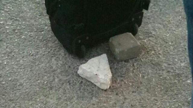מטר האבנים (צילום: מערוף חטיב) (צילום: מערוף חטיב)