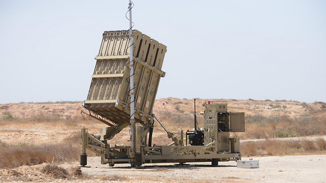 Hamas trying to challenge the Iron Dome missile-defense system (Photo: Herzl Yosef)