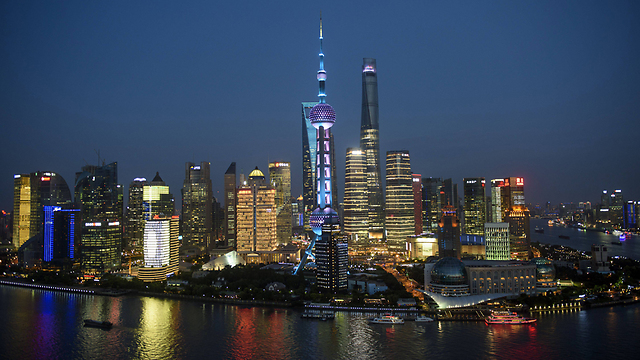 Shanghai, one of China's most important commercial cities. (Photo: AFP)