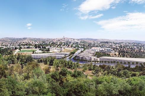 מבשרת ציון. קוטג' 6 חדרים ב-6,500 שקל לחודש (הדמיה: רשות מקרקעי ישראל) (הדמיה: רשות מקרקעי ישראל)