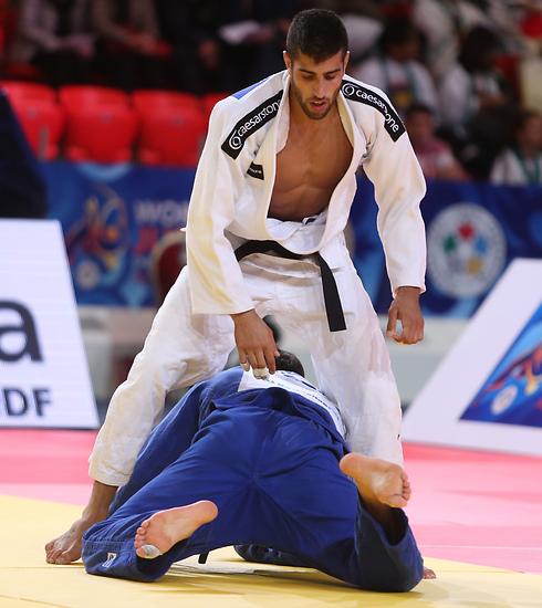 הישג השיא באליפות העולם (צילום: אורן אהרוני, קזחסטן) (צילום: אורן אהרוני, קזחסטן)