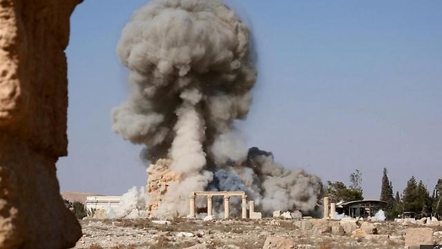 החרבת המקדש בתדמור ()