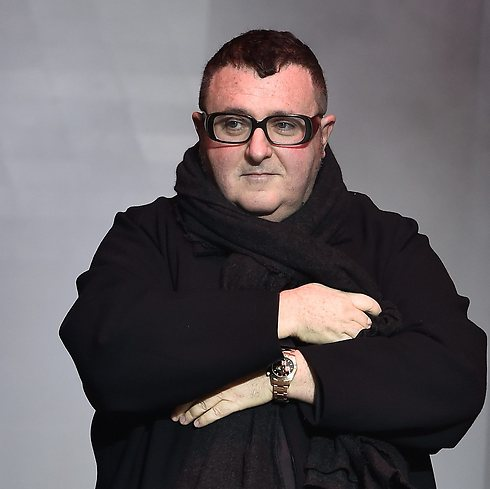 Alber Elbaz at the Lanvin Menswear FW 2015-16 show in Paris (Photo: Getty Images)