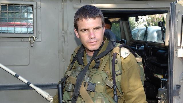 Brig. Gen. (res.) Gal Hirsch during the Second Lebanon War (Photo: Effi Sharir)