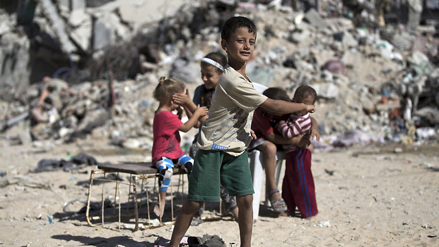 הבעיות ברצועת עזה לא נפתרו (צילום: AFP)