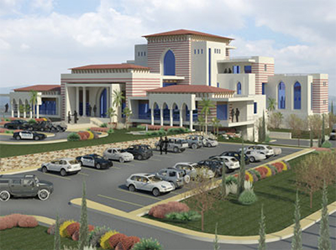 Abbas's recently planned official residence