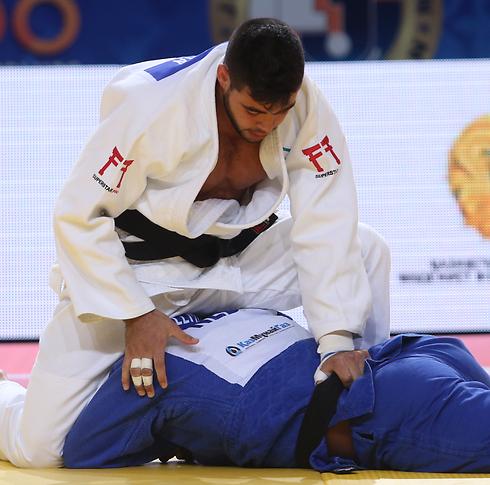לי קוכמן התאכזב בסיום הקרב (צילום: אורן אהרוני) (צילום: אורן אהרוני)