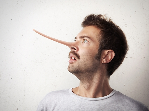 """""""אופס, נראה לי שנתפסתי על שקר"""" (צילום: Shutterstock) (צילום: Shutterstock)"""