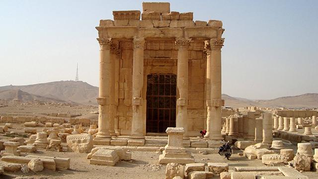 נבנה במאה השלישית לפני הספירה. מקדש בל בתדמור (ארכיון) (צילום: רויטרס) (צילום: רויטרס)