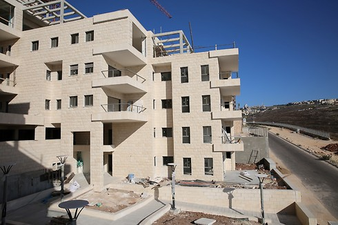 שכונת הגליל בנצרת. שכונה חדשה בבנייה שתכלול יותר מ-600 דירות ברבי קומות (צילום: זאיר אבו אל נאסר) (צילום: זאיר אבו אל נאסר)