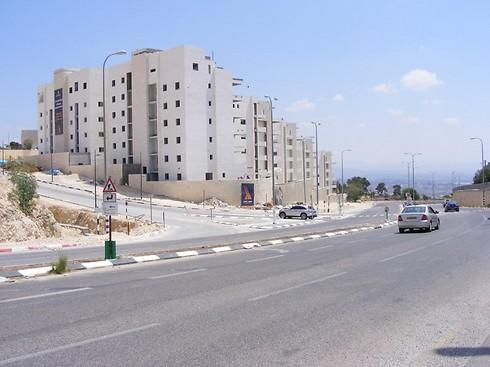שכונת הדקלים (הנח'יל) בנצרת. יוקרתית, מאוכלסת - ובנויה לגובה (צילום: זאיר אבו אל נאסר) (צילום: זאיר אבו אל נאסר)