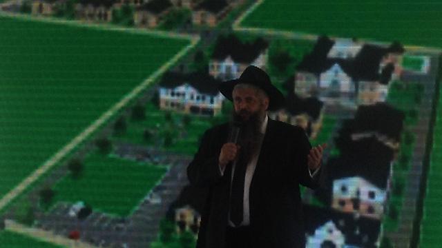Rabbi Asman, 'a Ukrainian hero' (Photo: Edward Docks)