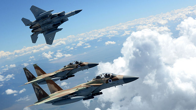 "Israeli F-15Is return from ""Red Flag"" (Photo: IDF Spokesperson)"
