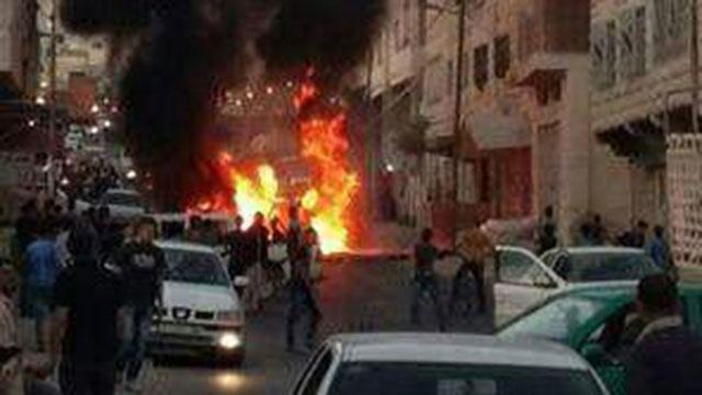 מהומות בחברון, אמש ()