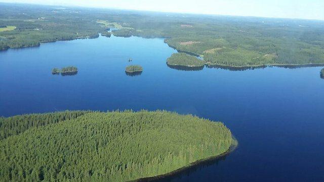 """פינלנד מהאוויר. """"אנחנו חלק מהמערב"""" (צילום: עופר פטרסבטרג)"""