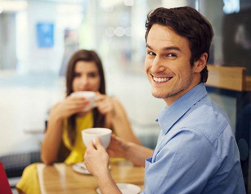 שתייה של שתי כוסות קפה ביום הפחיתה בכ־40% בעיות זקפה שונות בגברים (צילום: shutterstock)